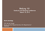 Bullying 101 Powerpoint from Bullying Symposium